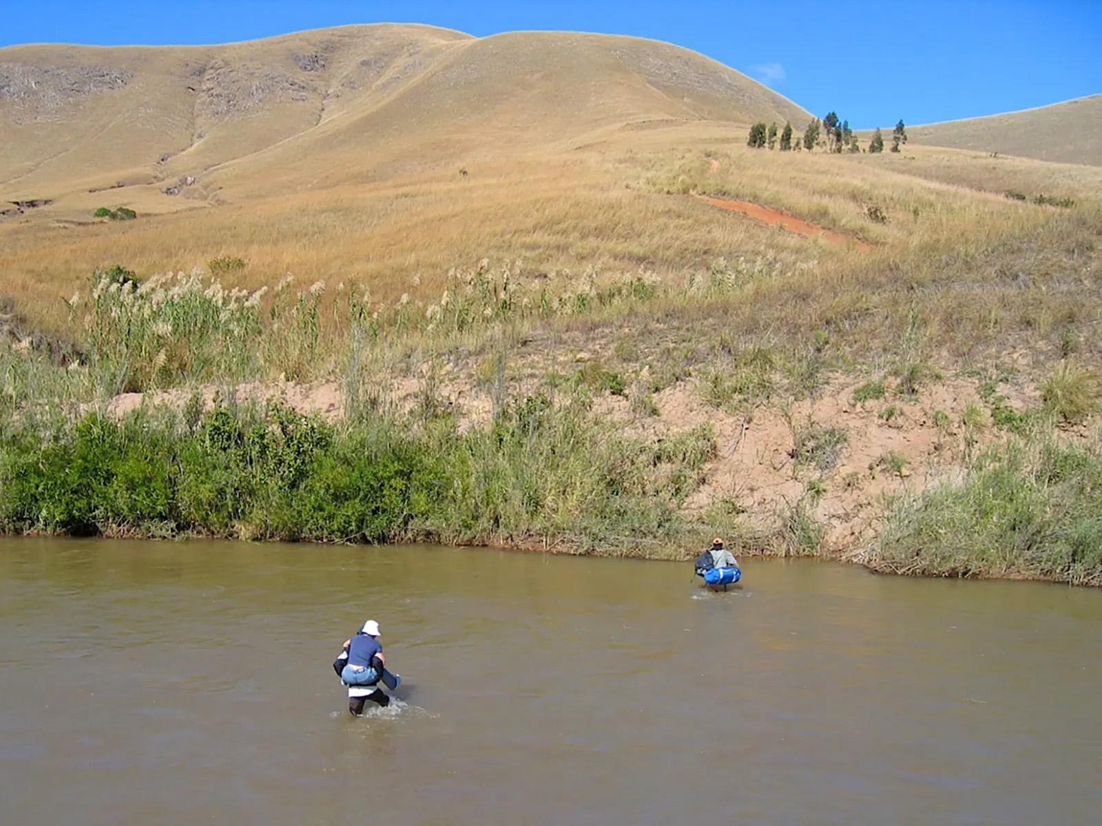 Durchquerung von Flüssen